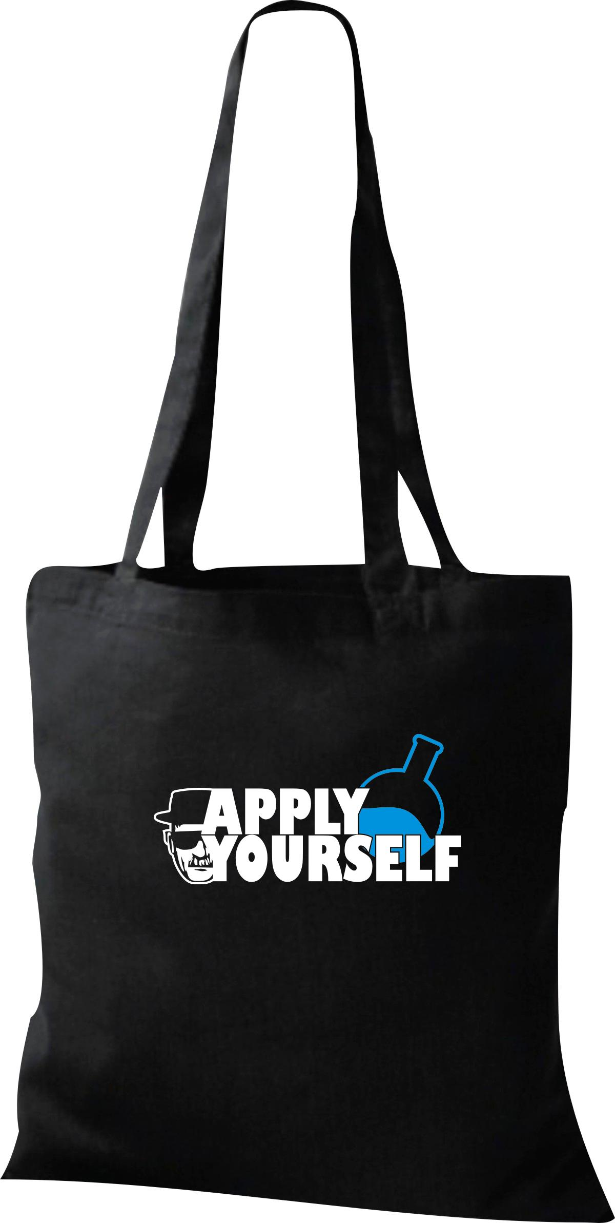 Organic-Bag-Shopper-Apply-Yourself-Reagenz-White
