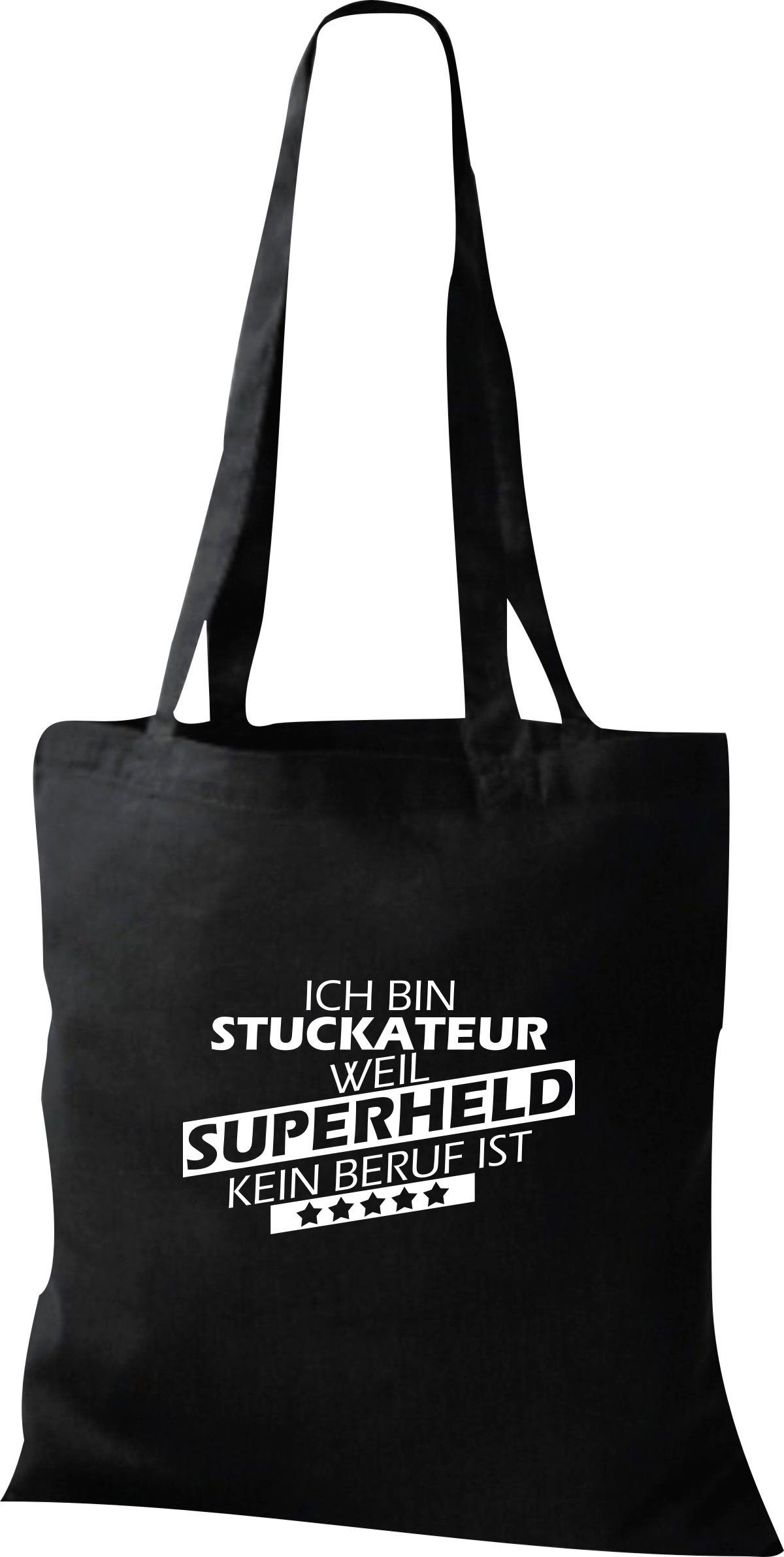 Organic-Shopper-Ich-bin-Stuckateur-weil-Superheld-kein-Beruf-ist