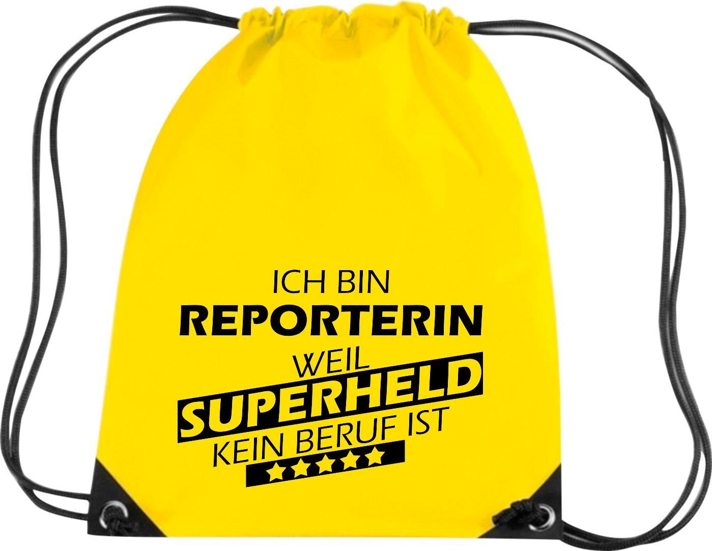 Premium-Gymsac-Ich-bin-Reporterin-weil-Superheld-kein-Beruf-ist