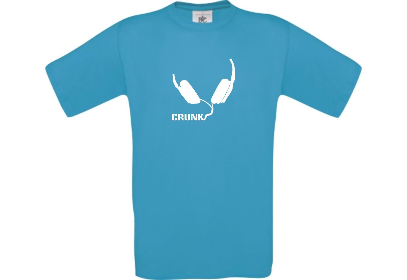 T-Shirt-Crunk-Musik-Kopfhoerer-Headphone-DJ-Kult-Music-kult