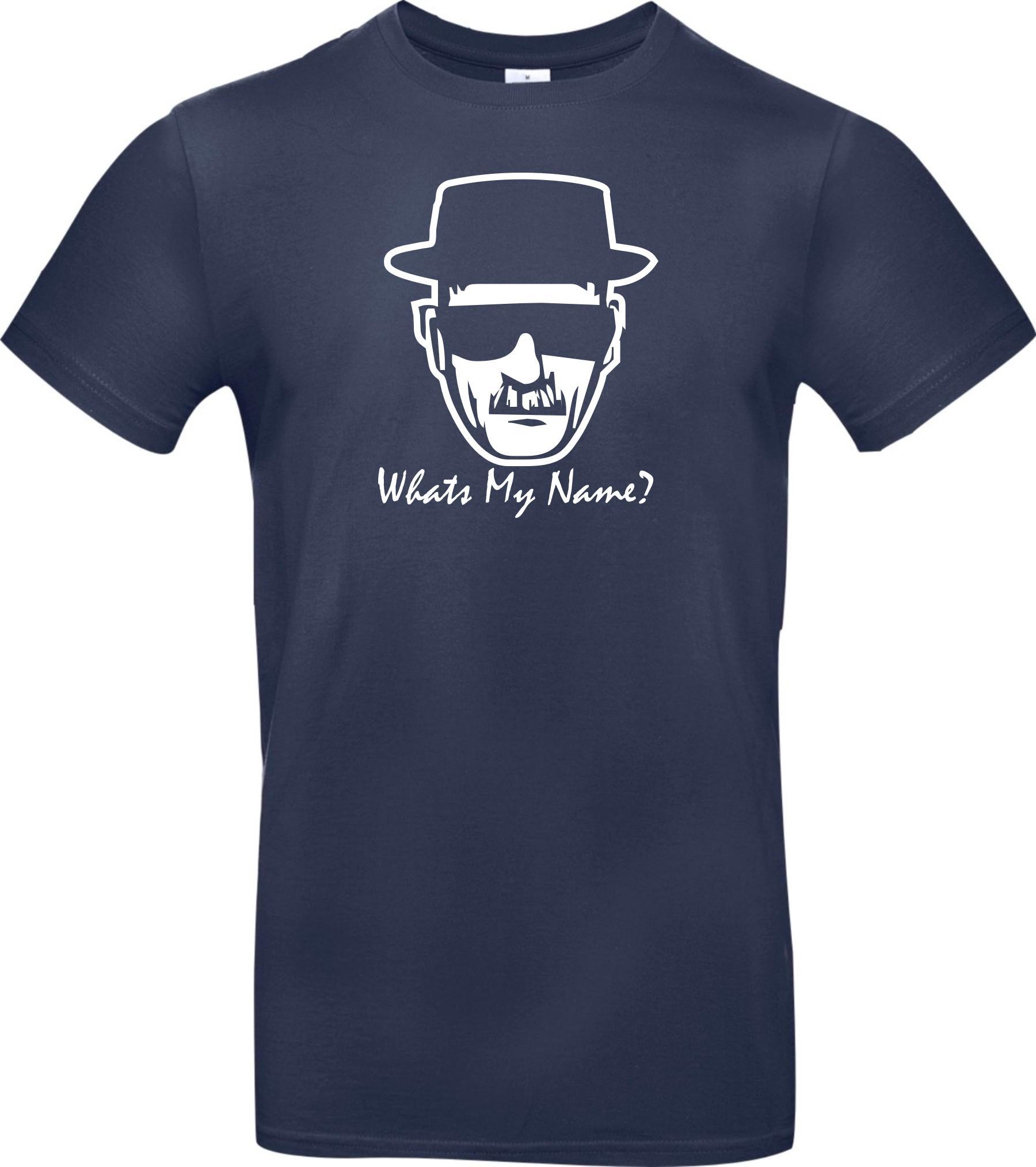 Unisex-T-Shirt-BREAKING-BAD-HEISENBERG-White-Whats-My-Name-Groesse-S-XXXL