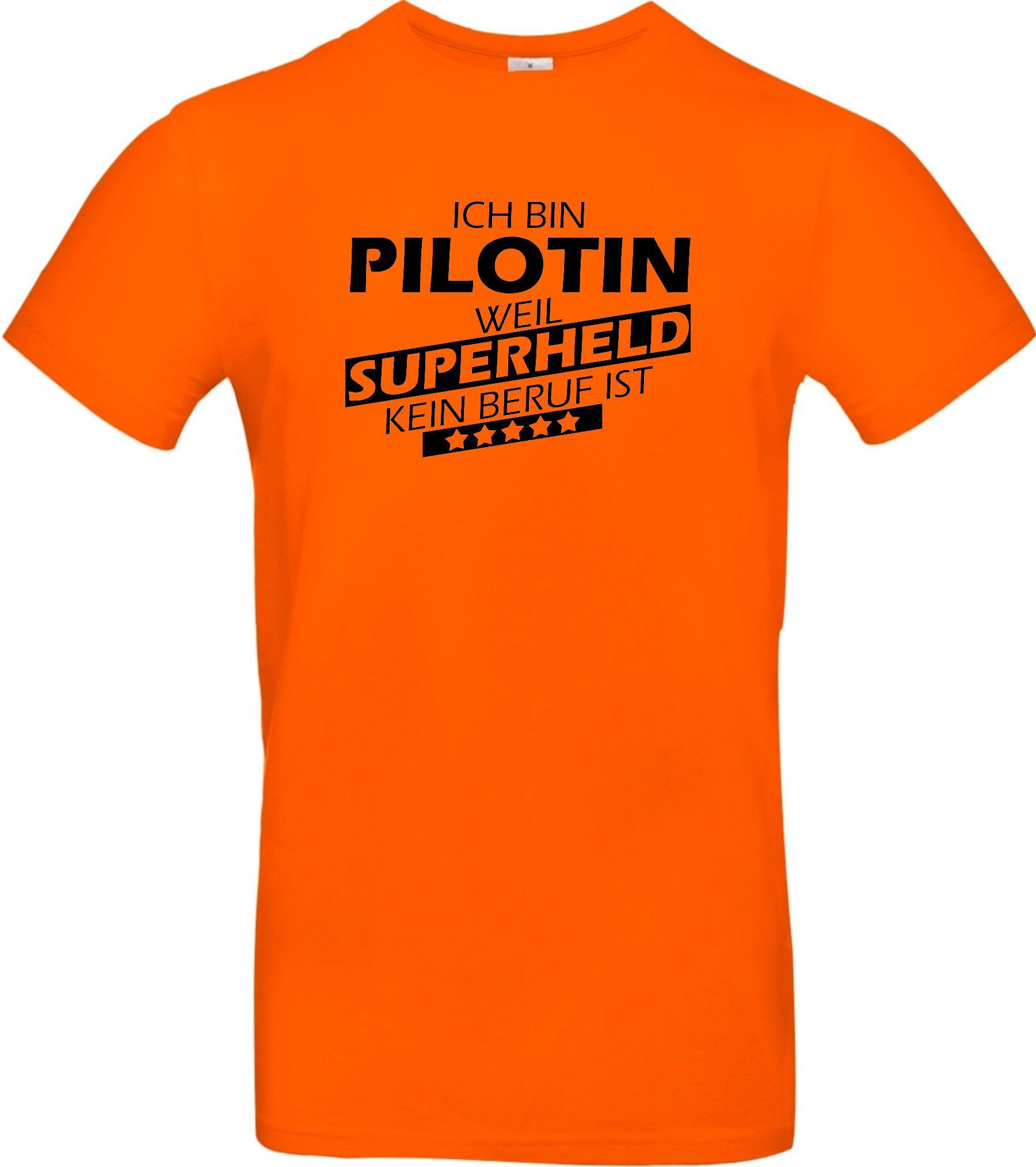 Maenner-Shirt-Ich-bin-Pilotin-weil-Superheld-kein-Beruf-ist