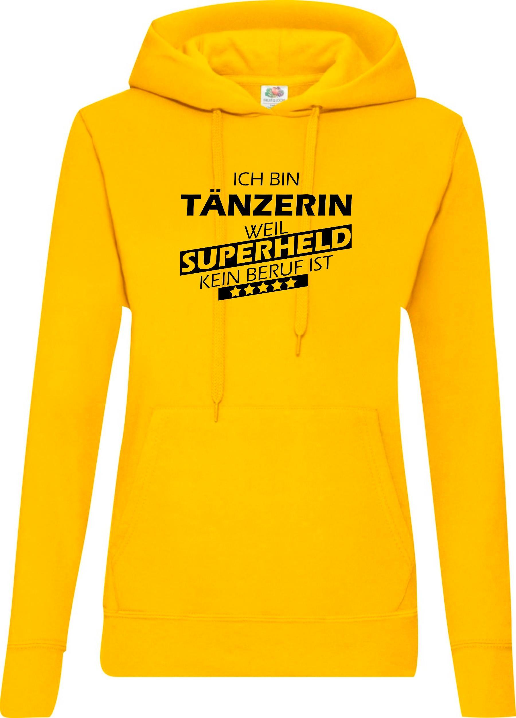 Lady-Kapuzensweatshirt-Ich-bin-Taenzerin-weil-Superheld-kein-Beruf-ist-Groessen-X