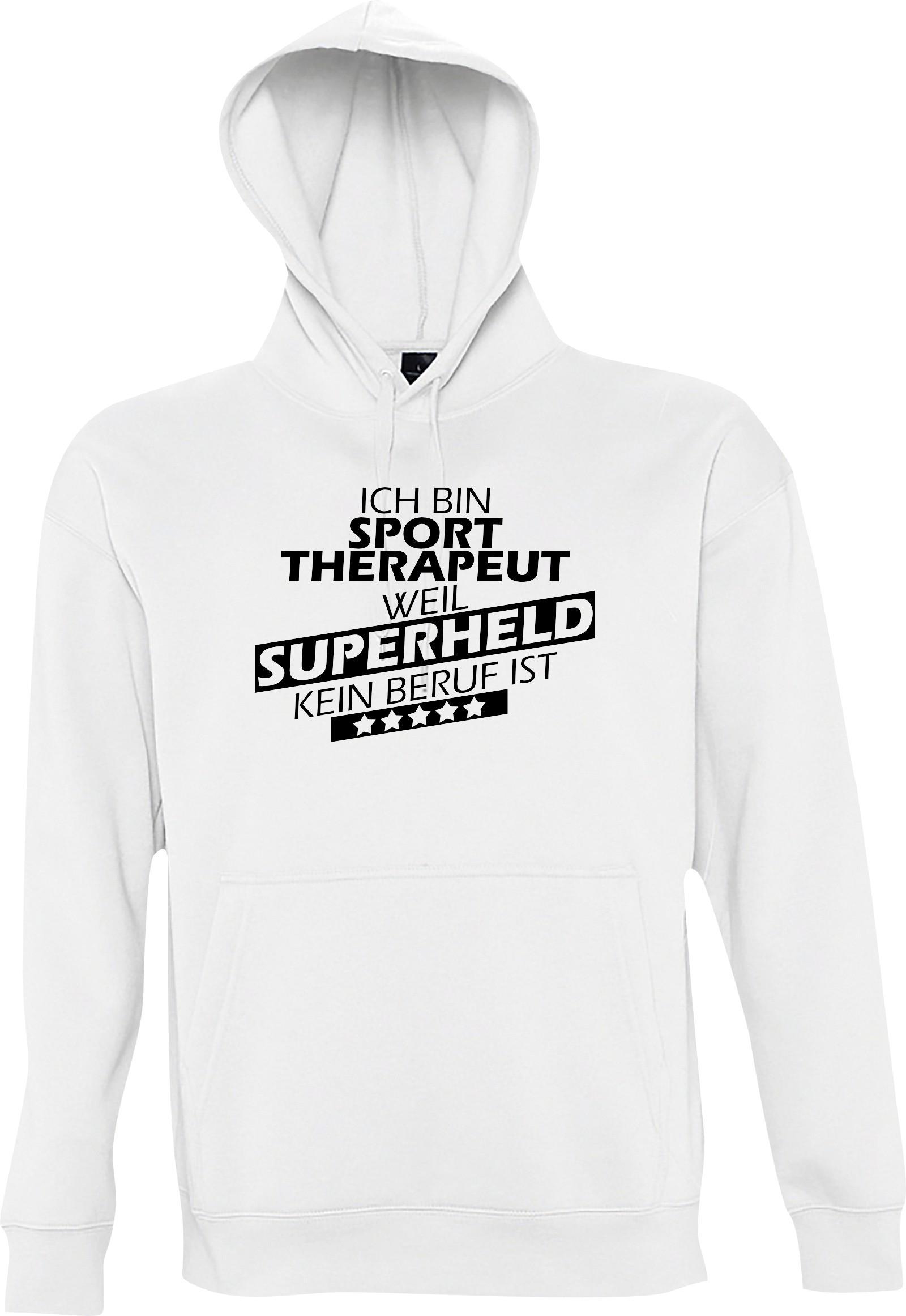 Shirtstown-Kapuzen-Sweatshirt-Ich-bin-Sporttherapeut-weil-Superheld-kein-Beruf