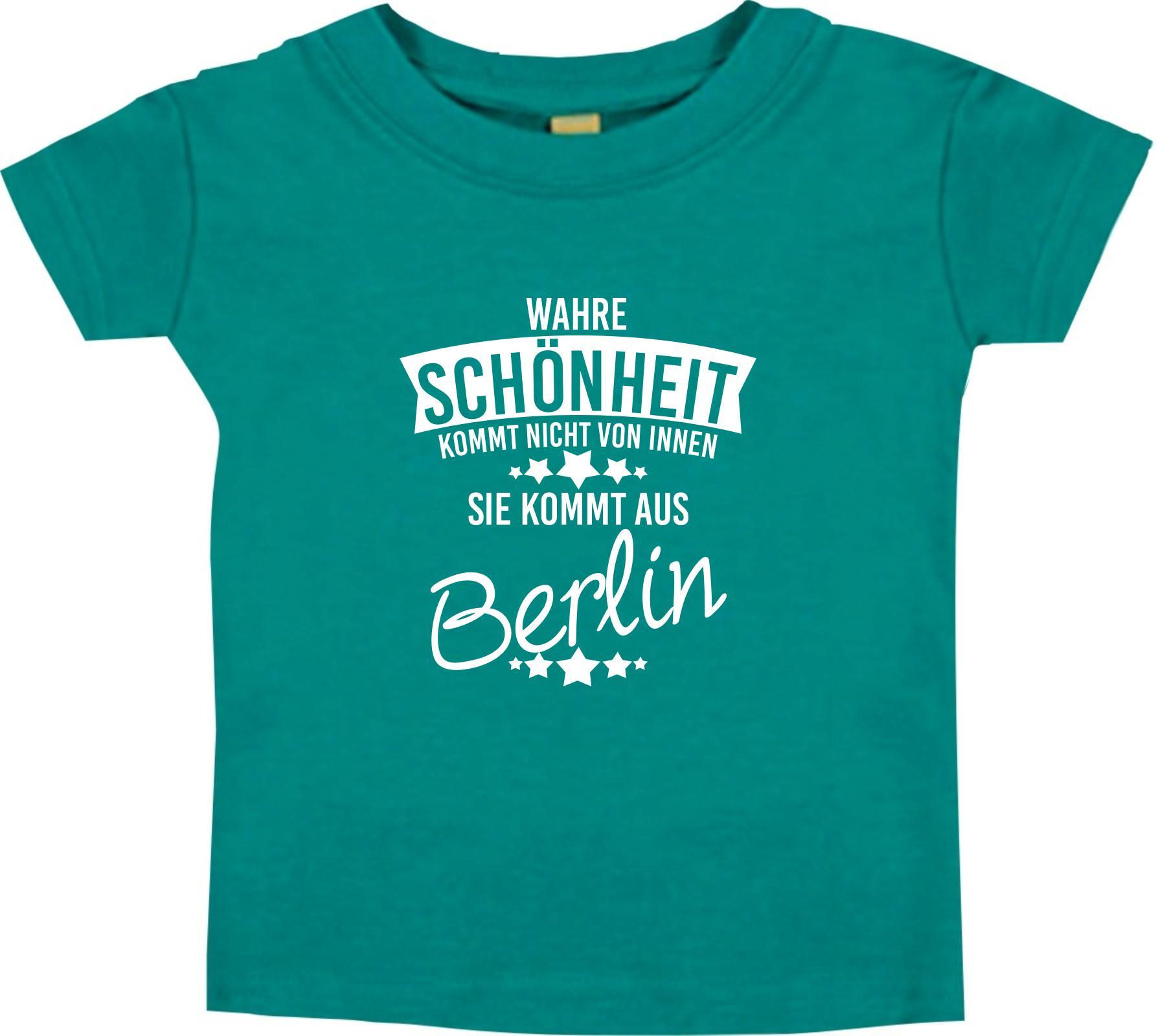 Enfants T-shirt vraie beauté vient de Berlin