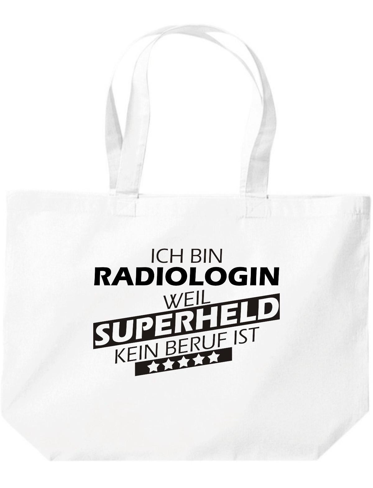 große Einkaufstasche, Ich bin Radiologin, weil Superheld kein Beruf ist,