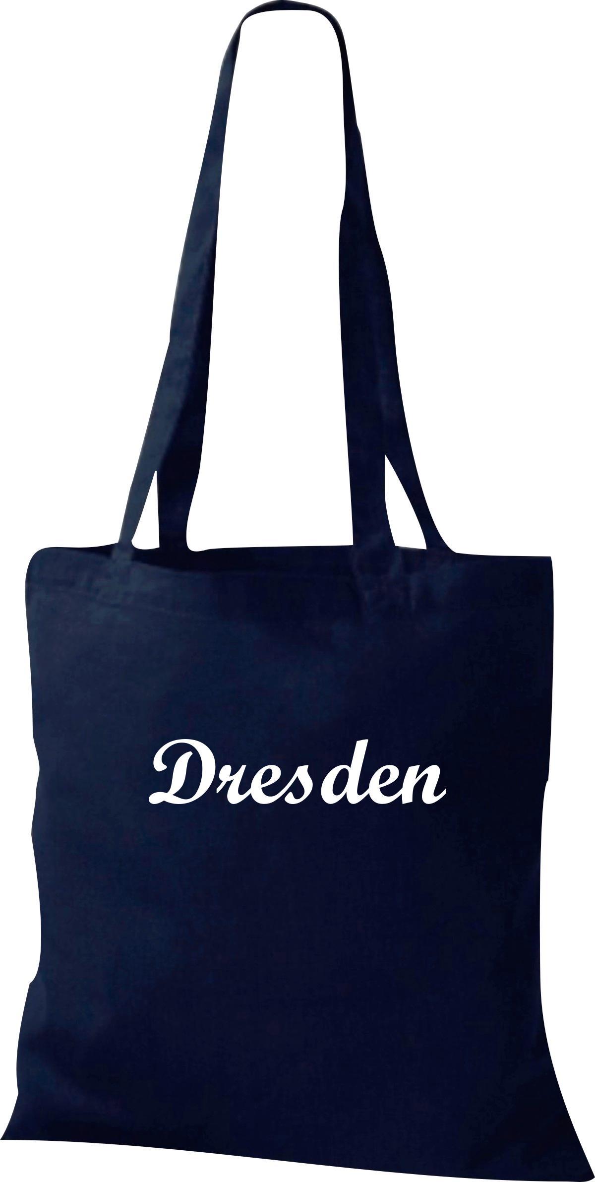Stoffbeutel City Stadt Shirt Dresden Deine Stadt kult, Baumwolltasche viele Farb