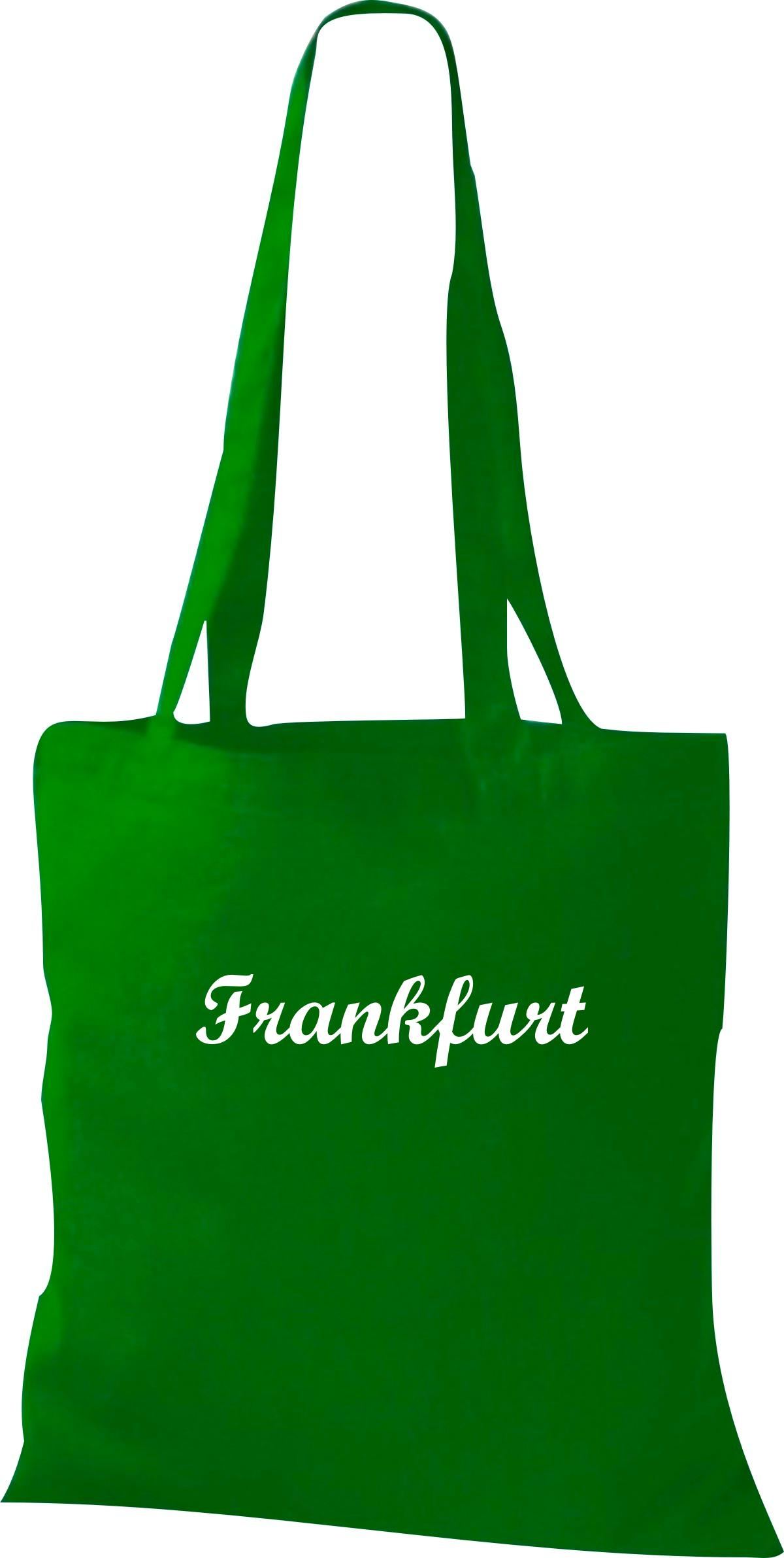 Stoffbeutel City Stadt Shirt Frankfurt Deine Stadt kult, Baumwolltasche viele Fa